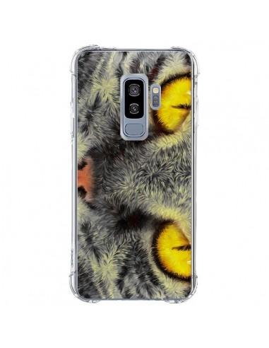 Coque Samsung S9 Plus Chat Gato Loco - Maximilian San