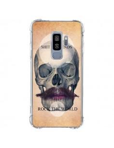 Coque Samsung S9 Plus Rock Skull Tête de Mort - Maximilian San