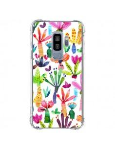 Coque Samsung S9 Plus Overlapped Watercolor Dots - Ninola Design