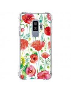 Coque Samsung S9 Plus Planets Constellation Pink - Ninola Design