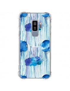 Coque Samsung S9 Plus Rain Stitches Neon - Ninola Design