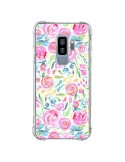 Coque Samsung S9 Plus Speckled Watercolor Pink - Ninola Design