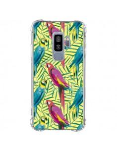 Coque Samsung S9 Plus Tropical Monstera Leaves Multicolored - Ninola Design