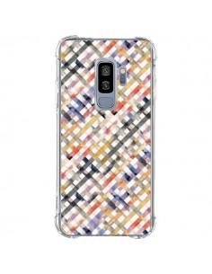 Coque Samsung S9 Plus Tropical Palms Blue - Ninola Design
