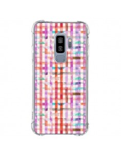 Coque Samsung S9 Plus Tropical Parrots Palms - Ninola Design