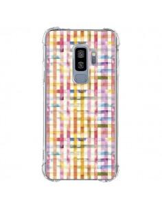 Coque Samsung S9 Plus Vichy Black Yellow - Ninola Design