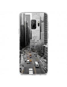Coque Samsung S9 New York Noir et Blanc - Anaëlle François