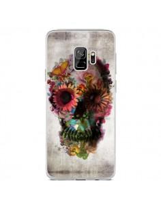 Coque Samsung S9 Skull Flower Tête de Mort - Ali Gulec