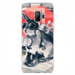 Coque Samsung S9 Lapin Time Traveller - Ali Gulec