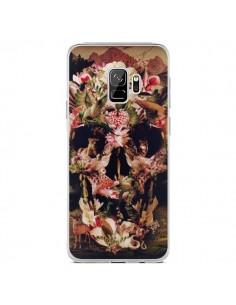 Coque Samsung S9 Jungle Skull Tête de Mort - Ali Gulec
