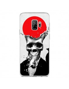 Coque Samsung S9 Splash Skull Tête de Mort - Ali Gulec
