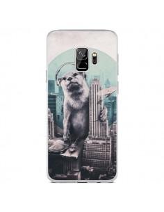 Coque Samsung S9 Loutre Dj New York - Ali Gulec