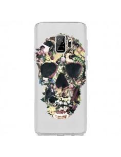 Coque Samsung S9 Skull Vintage Tête de Mort Transparente - Ali Gulec