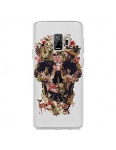 Coque Samsung S9 Jungle Skull Tête de Mort Transparente - Ali Gulec
