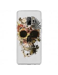 Coque Samsung S9 Garden Skull Tête de Mort Transparente - Ali Gulec