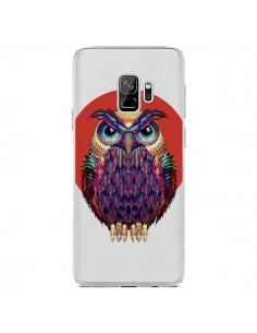 Coque Samsung S9 Chouette Hibou Owl Transparente - Ali Gulec