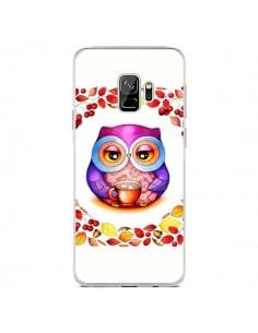 Coque Samsung S9 Chouette Automne - Annya Kai