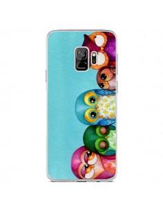 Coque Samsung S9 Famille Chouettes - Annya Kai