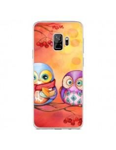 Coque Samsung S9 Chouette Arbre - Annya Kai
