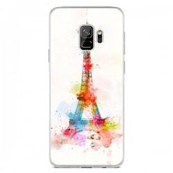Coque Samsung S9 Paris Tour Eiffel Muticolore - Asano Yamazaki