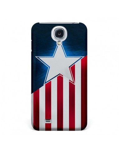 Coque Captain America pour Galaxy S4 - Eleaxart