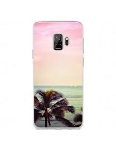 Coque Samsung S9 Sunset Palmier Palmtree - Asano Yamazaki
