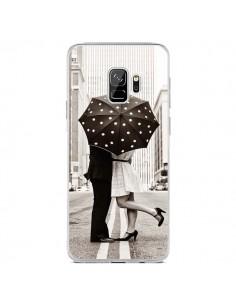 Coque Samsung S9 Secret under Umbrella Amour Couple Love - Asano Yamazaki