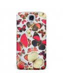 Coque Papillons pour Galaxy S4 - Eleaxart