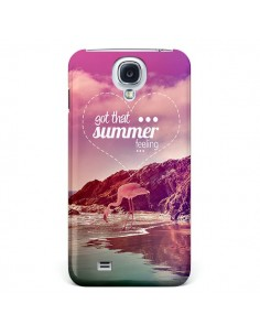 Coque Summer Feeling Été pour Galaxy S4 - Eleaxart
