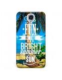 Coque Fun Summer Sun Été pour Galaxy S4 - Eleaxart
