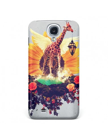 Coque Girafflower Girafe pour Galaxy S4 - Eleaxart