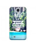 Coque Have a Great Summer Été pour Galaxy S4 - Eleaxart