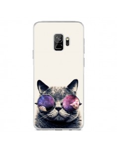 Coque Samsung S9 Chat à lunettes - Gusto NYC