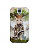 Coque Hear Me Roar Leopard pour Galaxy S4 - Eleaxart