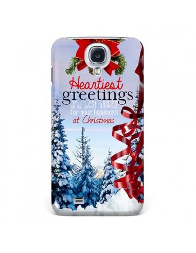Coque Voeux Joyeux Noël pour Galaxy S4 - Eleaxart