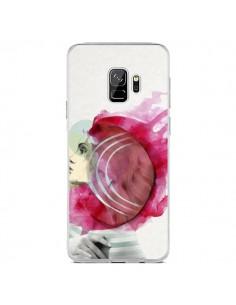 Coque Samsung S9 Bright Pink Femme - Jenny Liz Rome