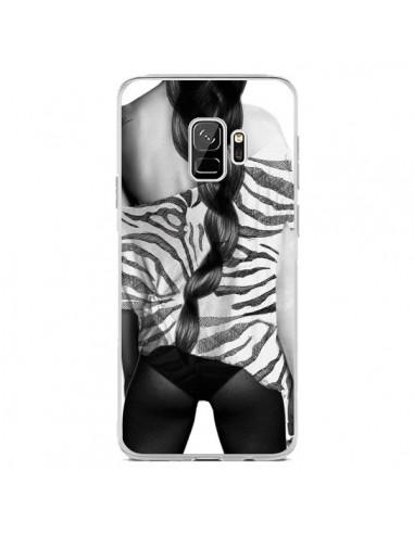 Coque Samsung S9 Femme Zebre - Jenny Liz Rome