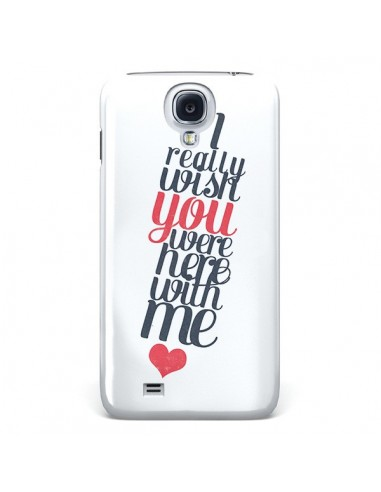 Coque Here with me pour Galaxy S4 - Eleaxart