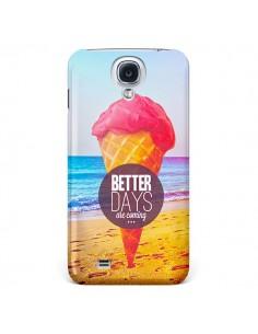 Coque Glace Ice Cream Été pour Galaxy S4 - Eleaxart