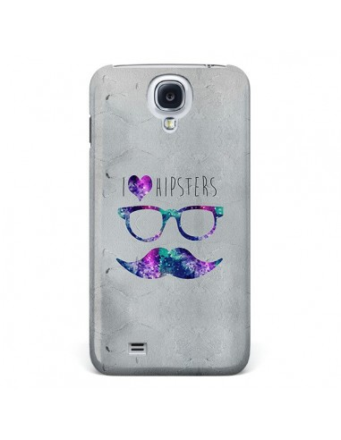 Coque I Love Hipsters pour Galaxy S4 - Eleaxart