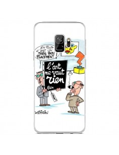 Coque Samsung S9 L'art ne vaut rien - Kristian