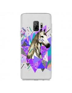 Coque Samsung S9 Licorne Unicorn Azteque Transparente - Kris Tate