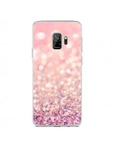 Coque Samsung S9 Paillettes Blush - Lisa Argyropoulos