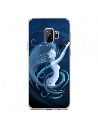 Coque Samsung S9 Aquarius Girl La Petite Sirene - LouJah
