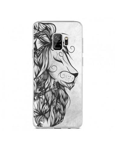 Coque Samsung S9 Poetic Lion Noir Blanc - LouJah