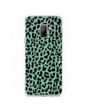 Coque Samsung S9 Leopard Mint Vert Neon - Mary Nesrala