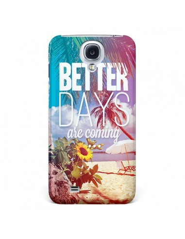 Coque Better Days Été pour Galaxy S4 - Eleaxart