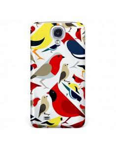 Coque Oiseaux Birds pour Galaxy S4 - Eleaxart