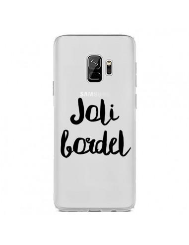 Coque Samsung S9 Joli Bordel Transparente - Maryline Cazenave