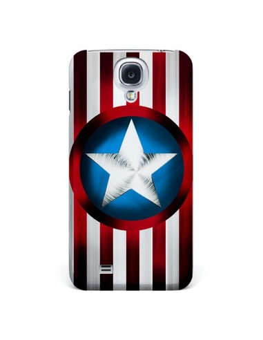 Coque Captain America Great Defender pour Galaxy S4 - Eleaxart